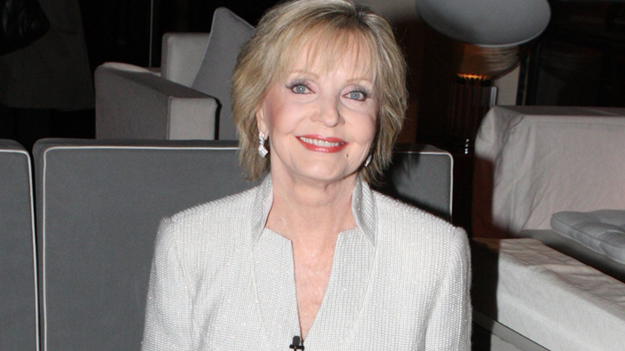 Florence Agnes Henderson is an American actress and singer of stage film and television. In her six decades of show business she is best known for her starring role as matriarch Carol Brady on the ABC sitcom The Brady Bunch. Birthday 2/14 1934, Photo Date: 6/25/12 (Cropped Photo: Eva Rinaldi / Flickr / CC BY-SA 2.0 )