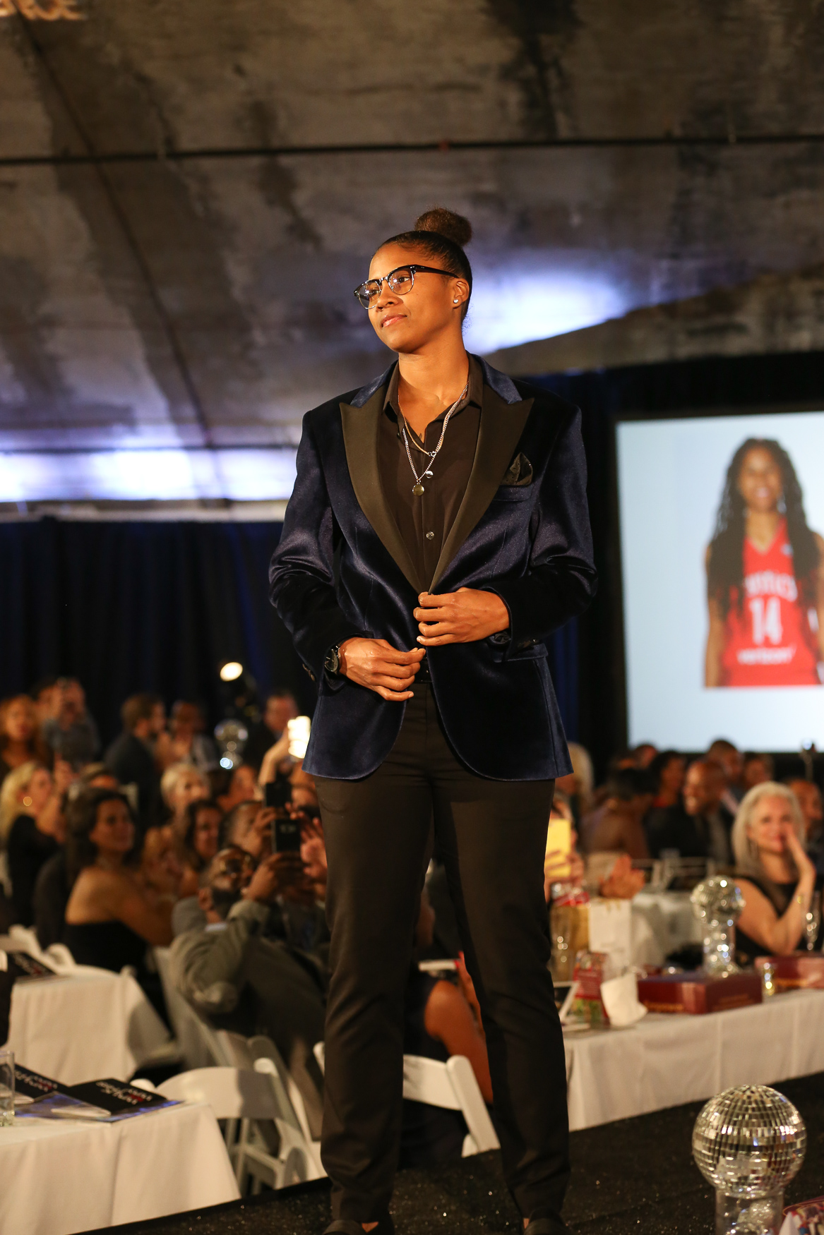 Tierra Ruffin-Pratt of the Washington Mystics.{ }(Amanda Andrade-Rhoades/DC Refined)