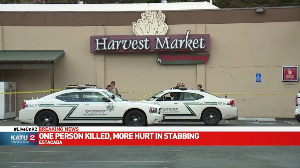 Deputies: Man killed mother, walked into grocery store with her head, stabbed employee. (KATU)