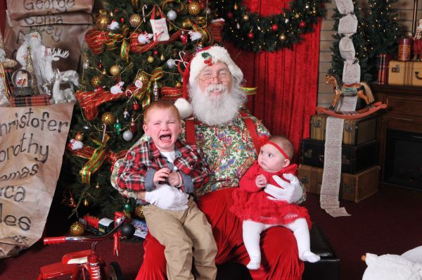 Ah, Santa Claus - the glorious bearded man in the big red suit who fulfills our kiddos holiday dreams and wishes.  Also doubling as, apparently, the scariest man alive. Grab a glass of eggnog, sit back and feast your eyes on these Santa pics gone wrong - or as I call them...realistic Santa pics. (Image:{&nbsp;}Molly Duim){&nbsp;}<p></p>