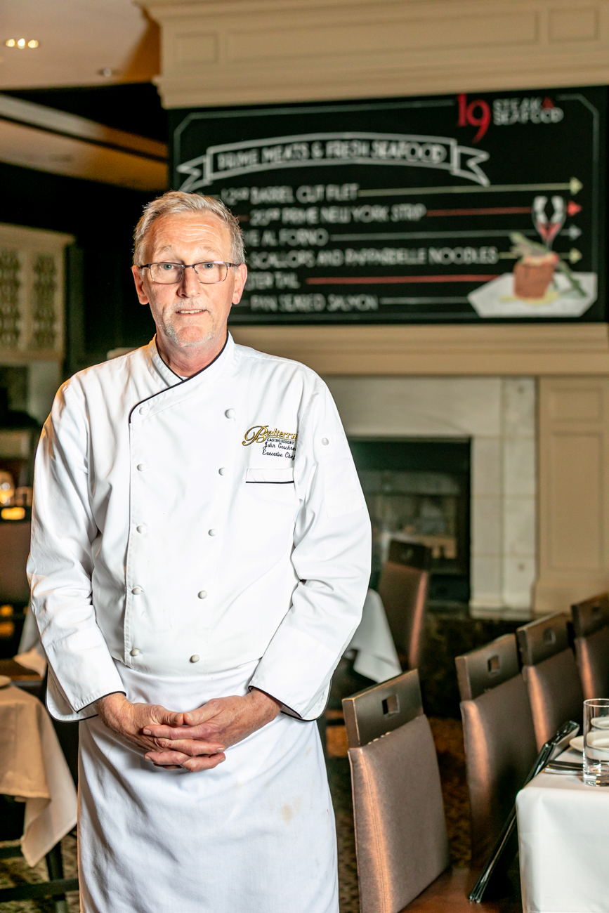 Executive Chef John Geschrei has been with Belterra for over ten years.{ }/ Image: Amy Elisabeth Spasoff // Published: 12.30.18