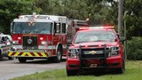 Mobile home fire causes injuries in suburban West Palm Beach