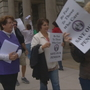 Retired St. Joseph's, Fatima nurses picket over pension woes