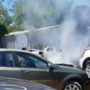 Two cars catch fire at Marion used parts business