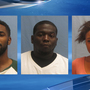 LRPD finds vehicle full of stolen property, arrests 3 adults and 1 juvenile