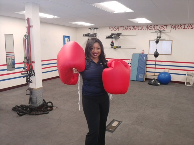 People with Parkison's Disease fight back through boxing.{&amp;nbsp;}( Photo: Courtney Wheaton)<p></p>