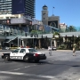 Suspect arrested after shooting, barricade on Las Vegas Strip bus