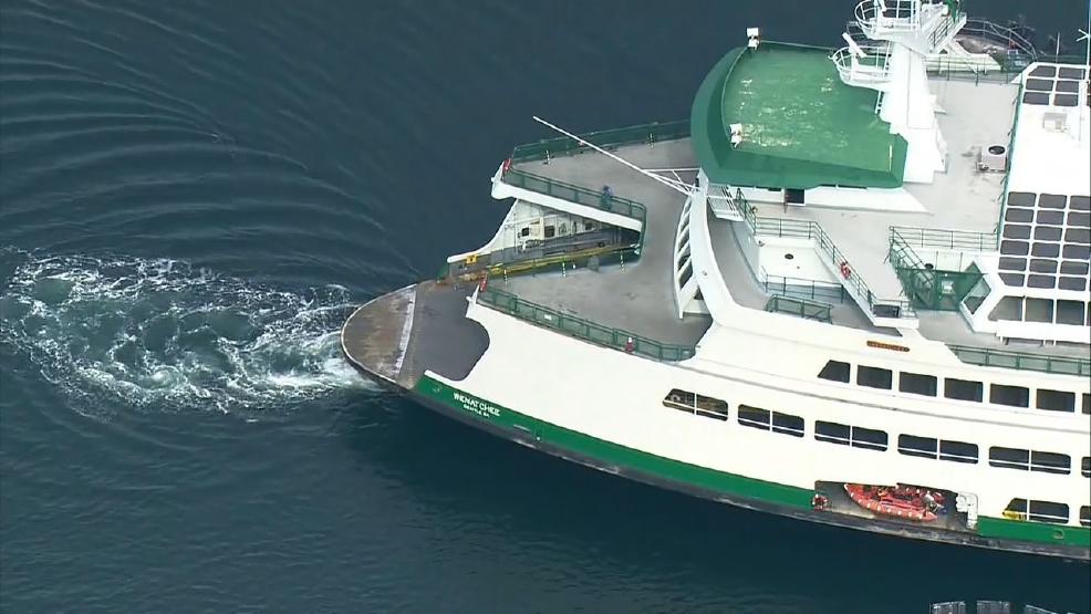 Bainbridge Island Ferry Fixed Will Resume Normal Service