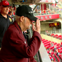 Korean War POW from Blue Ash honored at Reds game