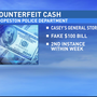 Hoopeston police warn businesses of counterfeit cash