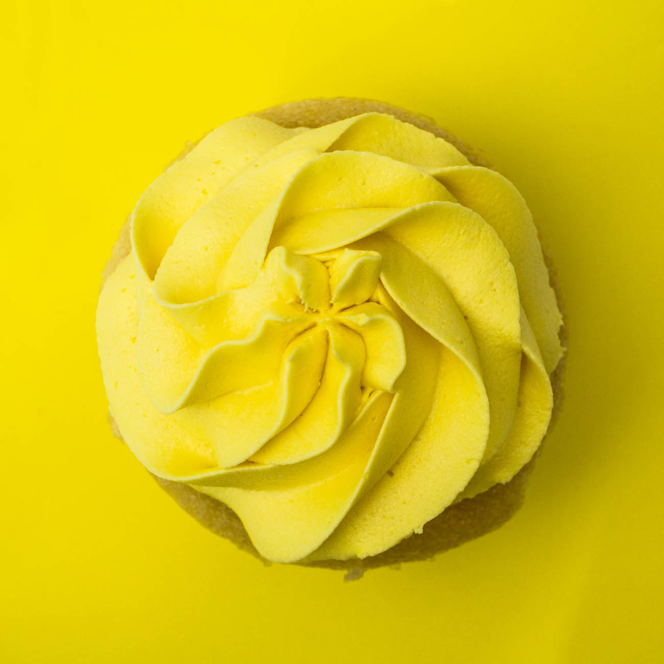 Lemon-licious cupcake{ }from Abby Girl Sweets / Image: Catherine Viox // Published: 1.4.20