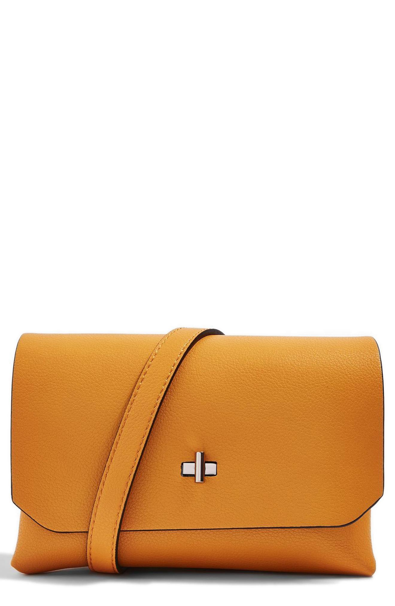 Topshop Otley Faux Leather Crossbody Bag from Nordstrom // Price: $40.00 // (Image: Nordstrom // Nordstrom.com)<p></p>