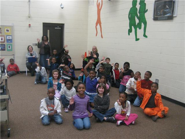 11/4/10...Lonnie B. Nelson Elementary Second Graders