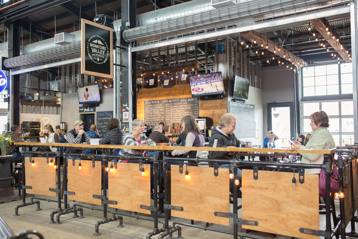 Wenatchee Valley Brewing Co. at Pybus Market (Image: Paola Thomas / Seattle Refined)
