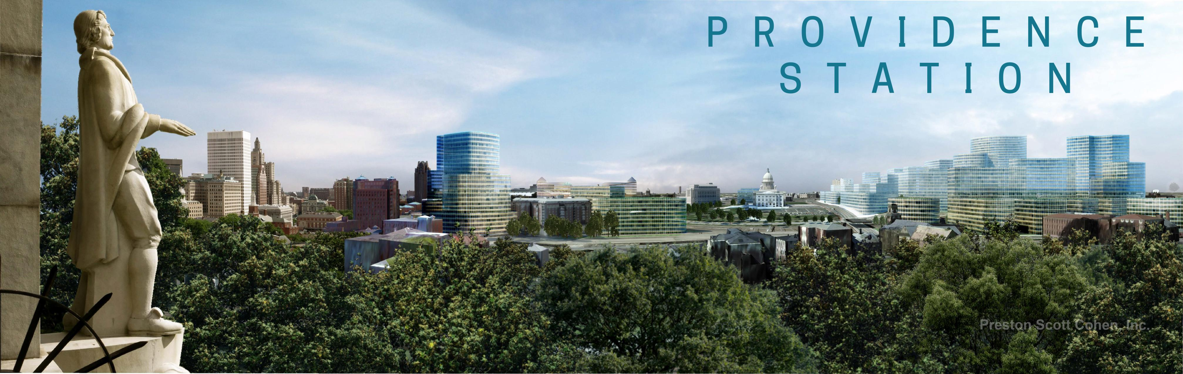The Rhode Island Commerce Corp. released renderings of proposed Amazon HQ2 office buildings.