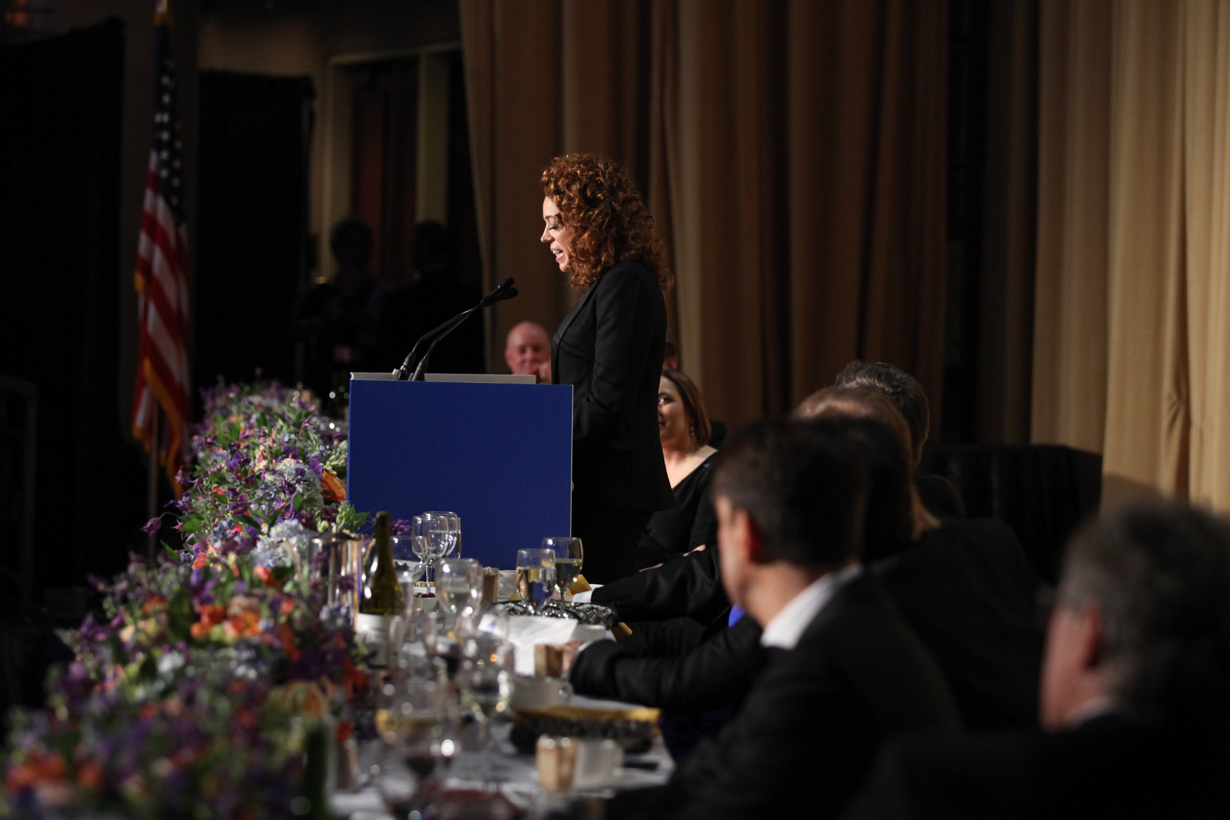 Comedienne Michelle Wolf lampooned politicians and media alike during the White House Correspondents' Dinner. (Amanda Andrade-Rhoades/DC Refined)