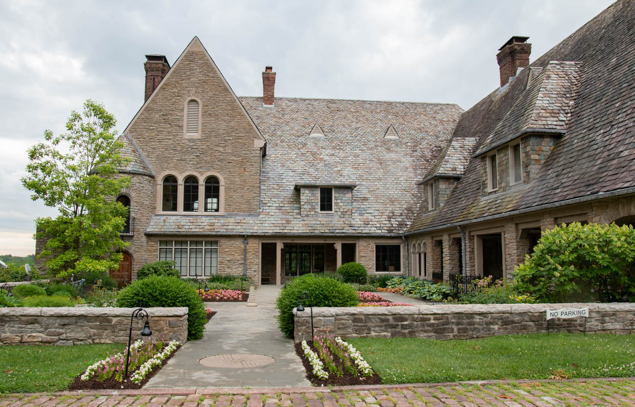 Originally the Fleischmann estate, the property was restored and maintained by the foundation for education and used as an event venue known as the Arts Center & Gardens. Notable public events include Music Under the Stars and the Celebration Concert, in partnership with the Cincinnati Ballet, Symphony, Opera, and May Festival. The space also serves as a private rental venue for weddings, galas, and other events. / Image: Elizabeth Lowry // Published: 6.22.19