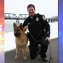 Heartland police say goodbye to former K-9 officer