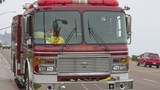 Waupaca Co. house catches fire