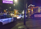 Police detain DUII suspect at SE Portland Taco Bell - Portland Police photo.jpg
