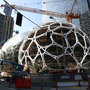 Get a look inside the Amazon Spheres next week