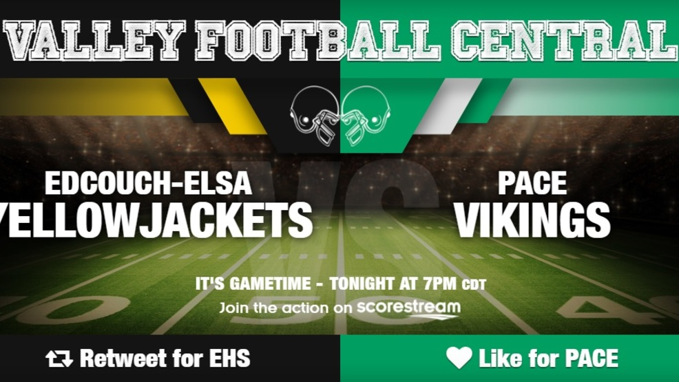 Watch Live: Edcouch-Elsa Yellowjackets at Brownsville Pace Vikings