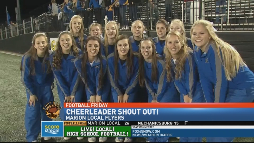 Dayton Cheerleader Shoutout News Weather Sports