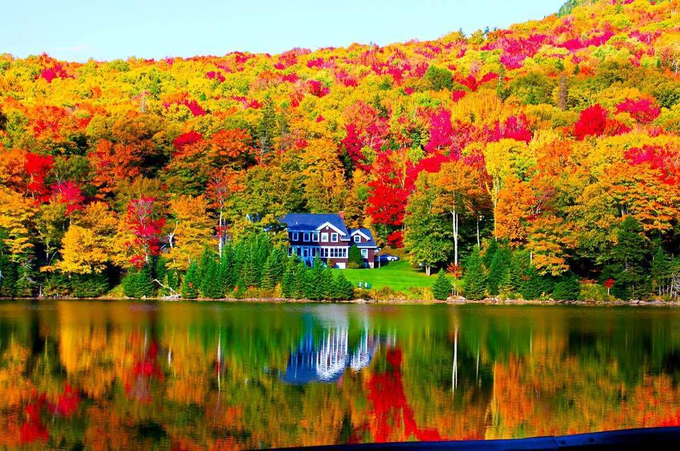 Photo Gallery Fall Foliage In Maine New Hampshire Wgme