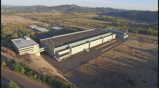 Aerial footage and images of the Hynix property courtesy Lance Hughes.