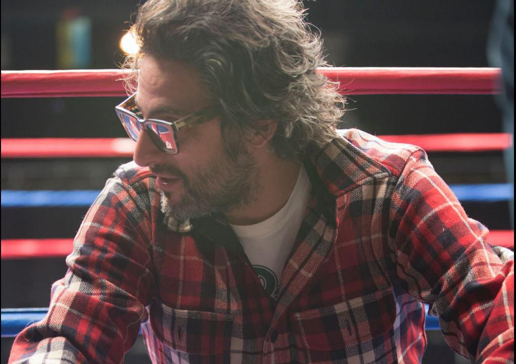 Director Ben Younger on the set of BLEED FOR THIS. (Courtesy of Open Road Films)