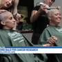 S.A. mother shaving her head in honor of childhood cancer research