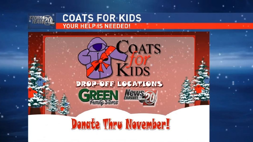 Green Family Stores >> Newschannel 20 Green Family Stores Coat Drive Wics