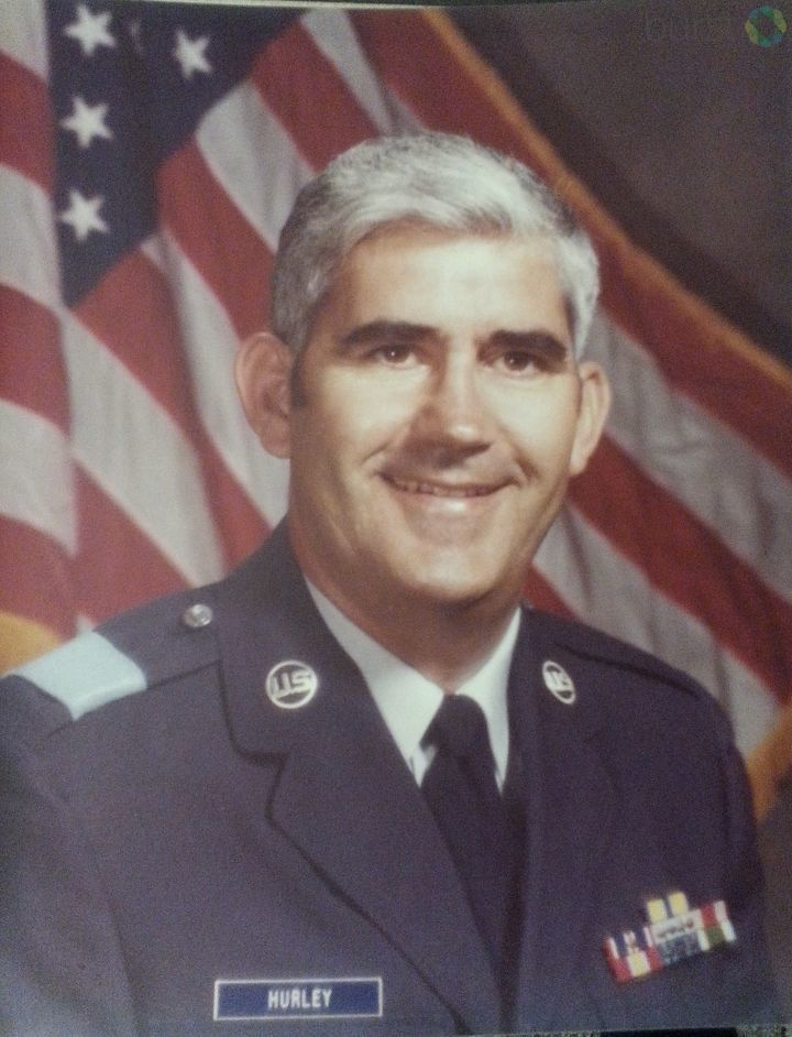 Bill Hurley spent 22 years in the US Air Force<p></p>