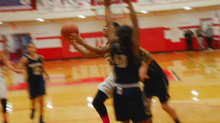 Cierra Jackons shoots a layup during the Tuscola vs Roberson game (WLOS Staff).jpg