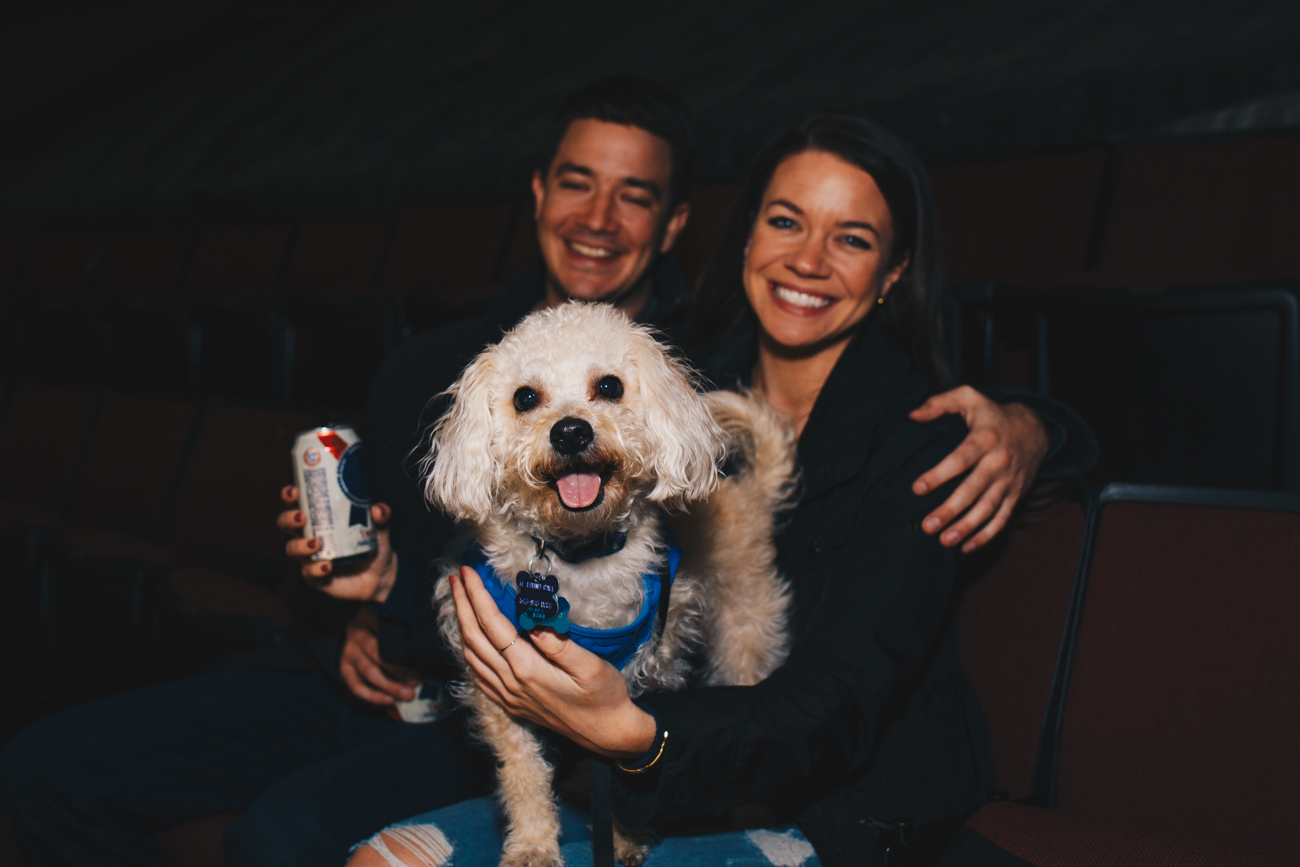 Captain with humans Harry Schilderink and Abbi Jackson / Image: Catherine Viox // Published: 3.21.19
