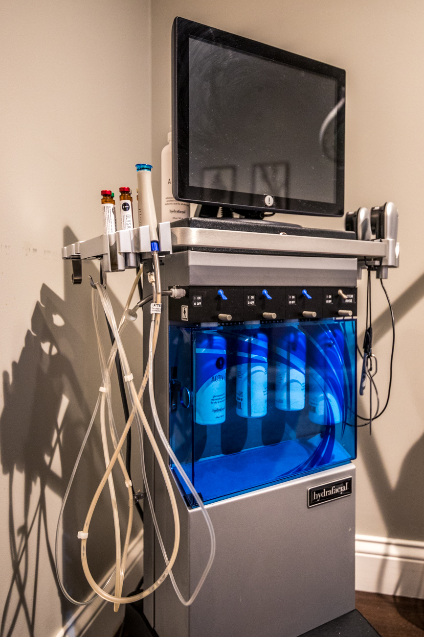 The HydraFacial machine / Image: Catherine Viox{ }// Published: 12.16.19