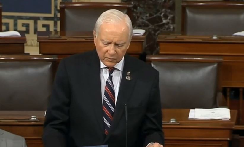 Hatch teaches internet 'valuable jargon lesson' (Photo: KUTV)