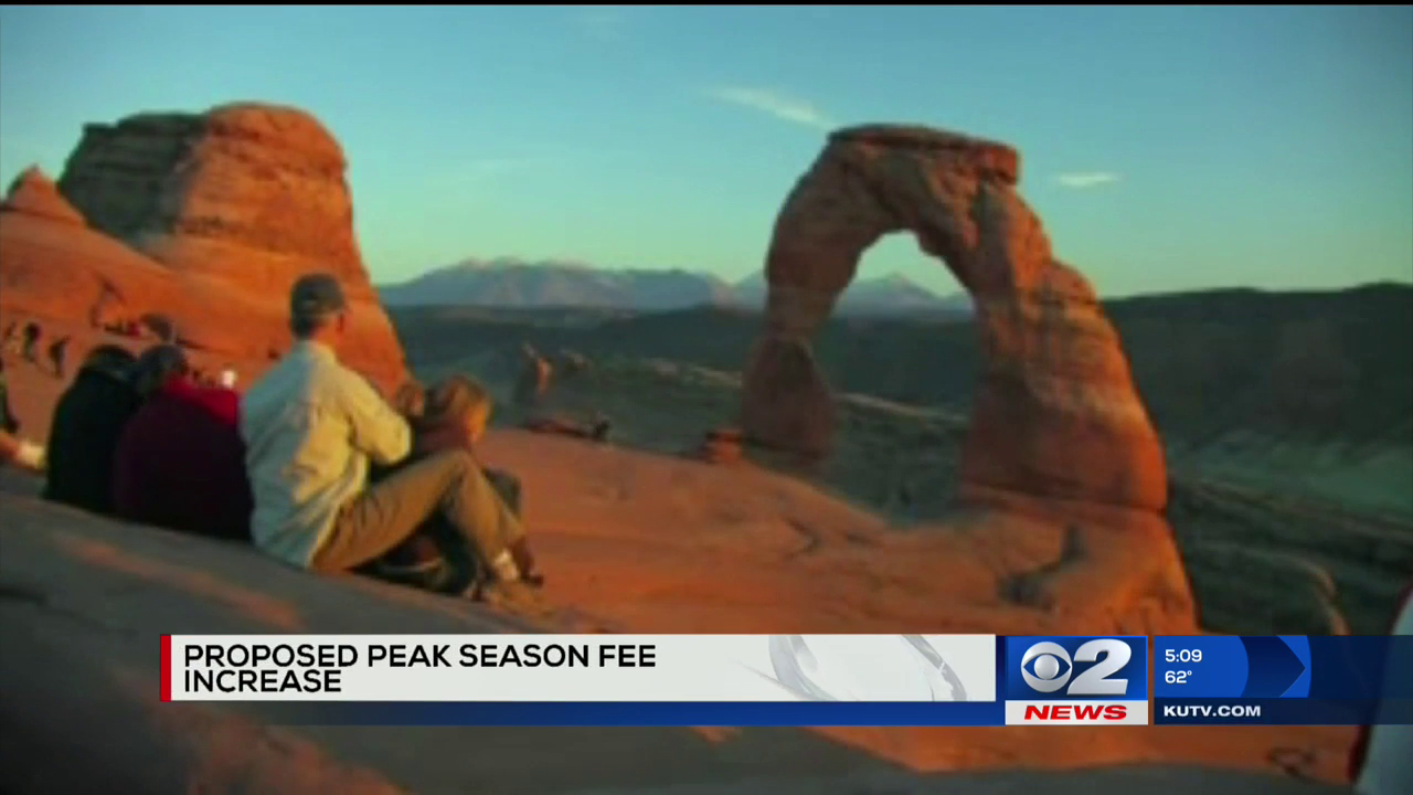 US considers higher entry fees at Utah's, other popular national parks (Photo: KUTV)