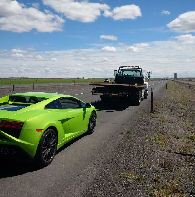 Lamborghini Among Several Exotic Cars Busted Going 100 Mph On Way