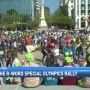 Thousands gather at the State House to support Special Olympics rally