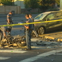 2 motorcyclists killed in fiery crash in Shoreline