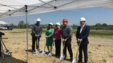 Groundbreaking at new Hyatt hotel in Genesee County