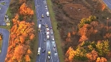 Police: 1 dead in 3-vehicle crash involving tractor-trailer in Maryland