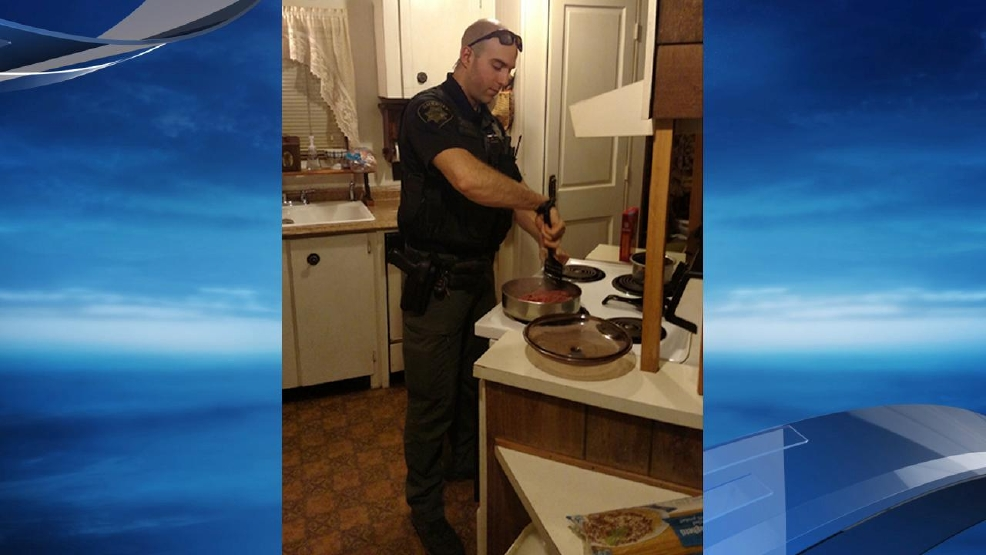Deputy Higgins prepares a meal for a person in need - Marion County Sheriff's Office photo.jpg