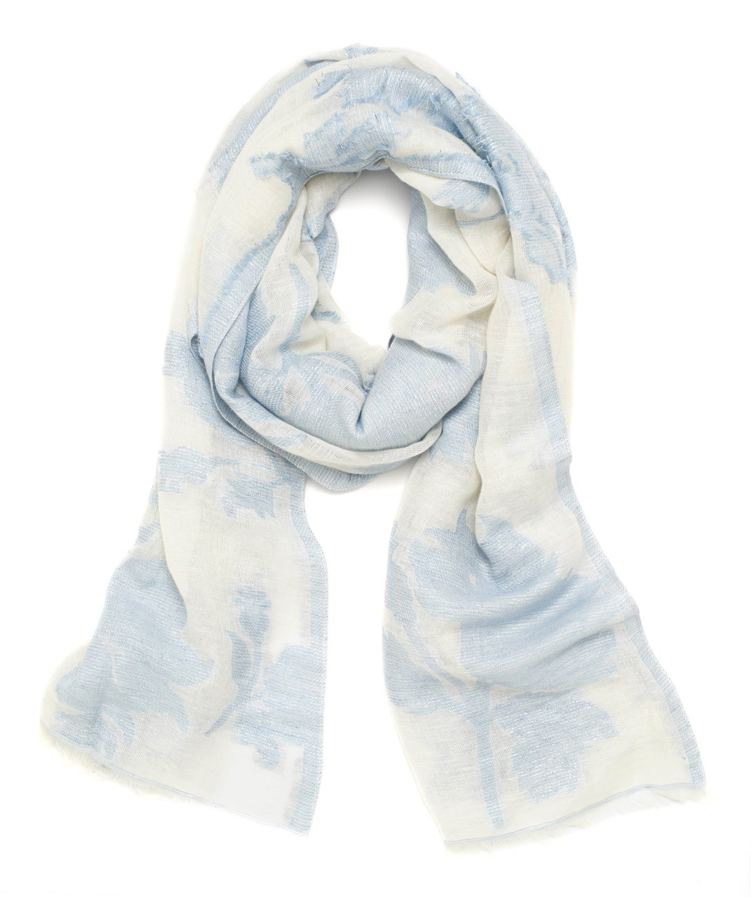 LOFT Shimmer Floral Scarf // Price: $39.50 // Purchase at LOFT stores // (Photo: LOFT)