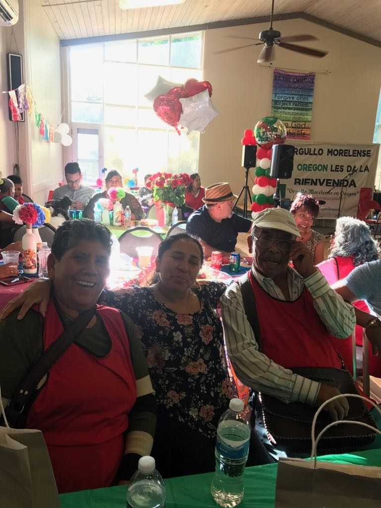 Fotos cortesía: Club Migrante Orgullo Morelense en Oregon<p></p>