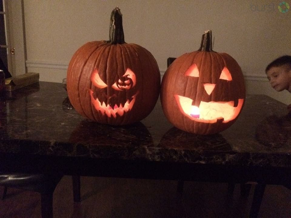 Pumpkin carvings by Levi and Nathan{&amp;nbsp;}<p></p>