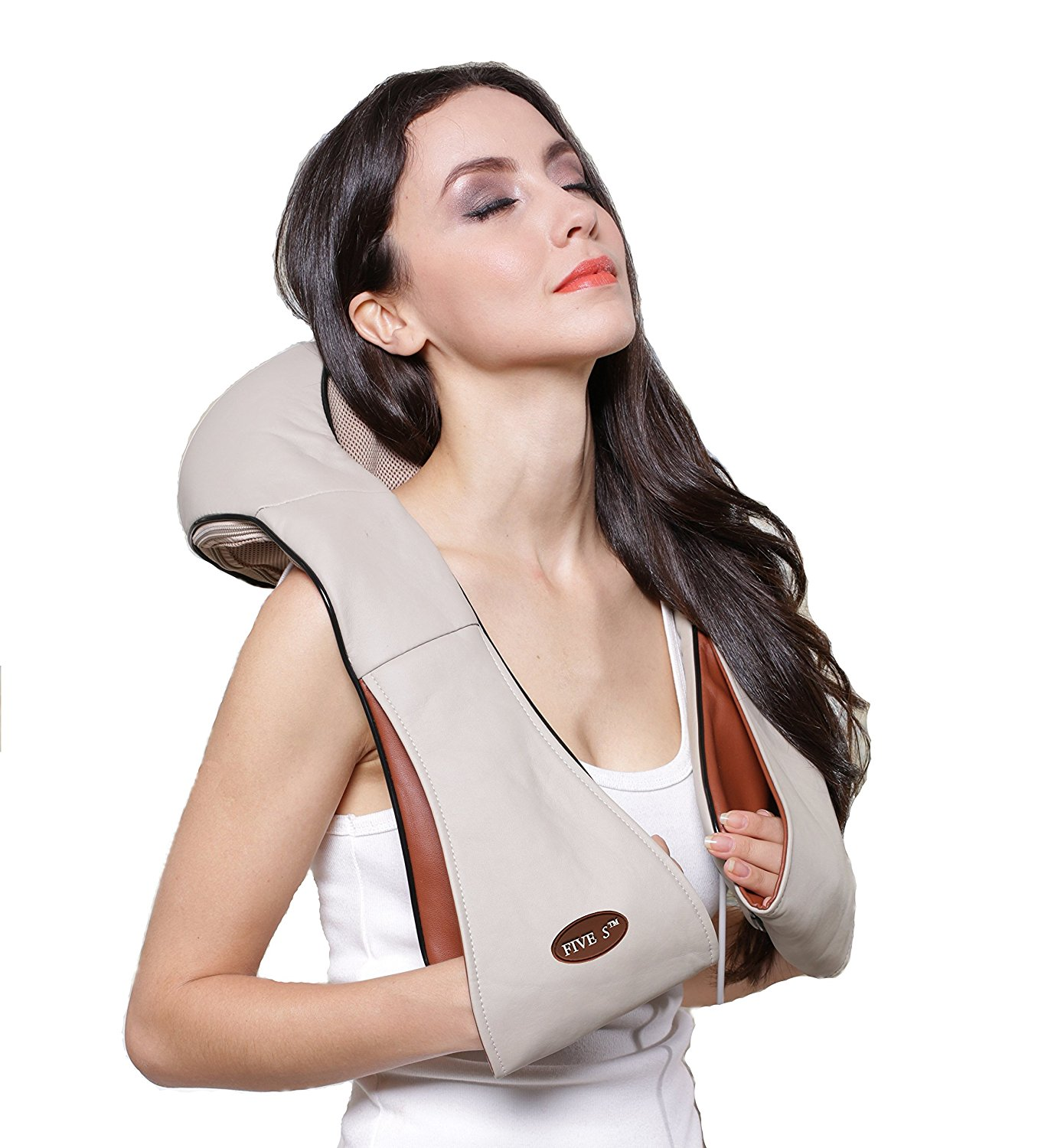 Shiatsu Neck & Back Massager with Heat , Shoulder, Foot Massager - Kneading Massage Pillow With Heat, $49.99 on Amazon Prime (Image courtesy of Amazon).