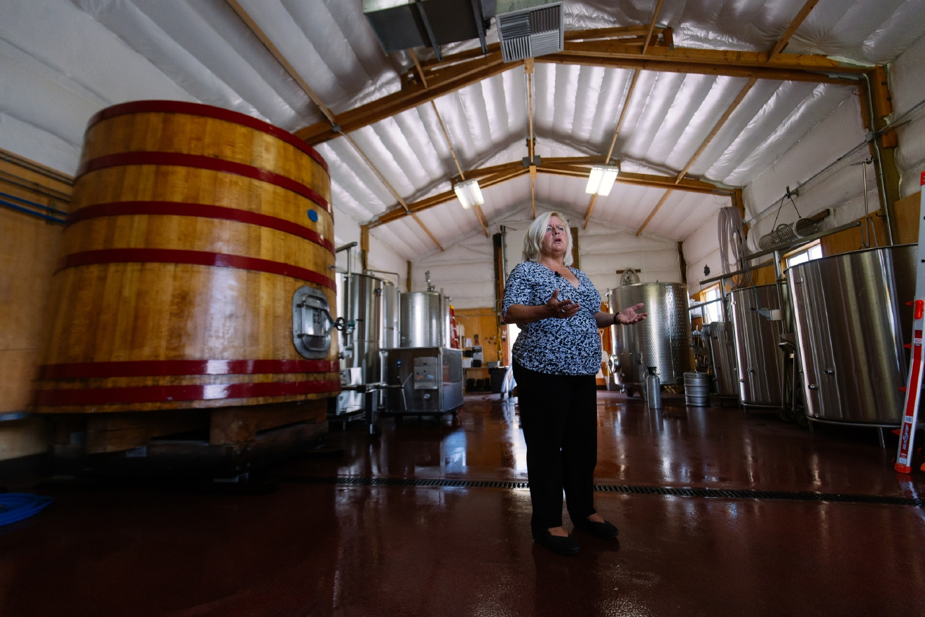 Judy and Don Phelps wanted to name their winery something everyone would remember. They hired a historian to help them find a great local story.  (Image: Joshua Lewis / Seattle Refined)