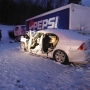 Weather conditions contributed to head-on collision with Pepsi truck